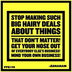 Mind your own business !! http://www.maxperformancemastercourse.com/?id=kimberleef&ad=pinab