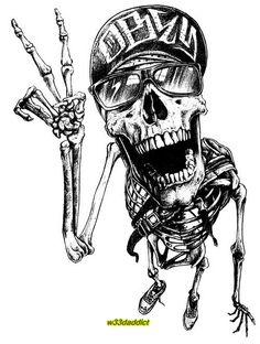 #w33daddict #Cannabis #Marijuana #420 #Skulls #Skeletons #BoneHead ☠