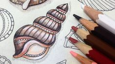 How to paint shell - More tips and tutorials on YouTube.com/ginapafiadache and