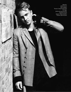 Here are some photos of Tom Felton from the Fall Fashion 2011... - Emma Watson - Zimbio