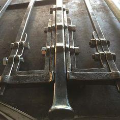 Ripples #forging #art #railing #sculpture