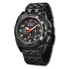 MTM SPECIAL FORCES BLACK PATRIOT MILITARY WATCH