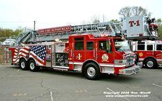 Lodi, NJ FD Truck 1 2007 Pierce Velocity 100' 2000/300. Fire Dept, Fire Department, Automobile, Fire Apparatus, Evening Sandals, Emergency Vehicles, Fire Engine, Fire Trucks, Firefighter
