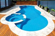 The Allure by Leisure Pools | Swimming Pools | Quality Fibreglass #LifeofLeisure #LeisurePools #Love #Inspiration #Swimmingpool #PoolDesign