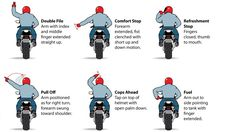 12 Motorcycle Hand Signals You Should Know | Lifehack