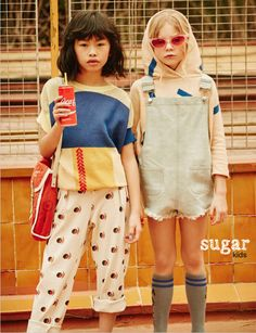Tilly & Isabella from Sugar Kids for Hooligans mag by Jotaeme.