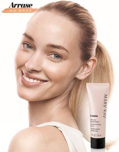 Prefere o efeito pele sequinha pro make? Então a Base Líquida TimeWise® Acabamento Matte é ideal pra você  :) #ArrasenaBase