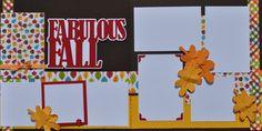 Fabulous Fall - 12x12 Scrapbook Page Kit