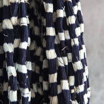 Hank of ikat thread, ready for weaving