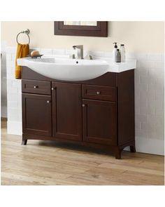 Pics Of ronbow adara space saver bathroom vanity cabinet