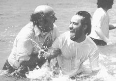 One of my fave pics of Chuck Smith--founder of Calvary Chapel--baptizing a new believer...oh the joy in his face!!