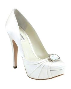 Elegant wedding shoe