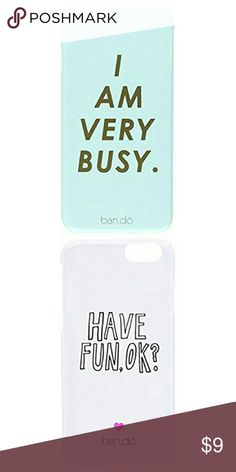 Ban.do Cell Phone Case for iPhone 6 - Retail Packa Ban.do Cell Phone Case for iPhone 6 - Retail Packaging - I Am Very Busy Ban.do Accessories Phone Cases