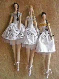 Boneca Tilda Bailarina | Feitos Perfeitos | Elo7