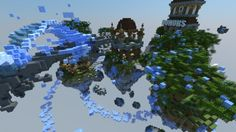 ECB Network - Skyblock Spawn Minecraft Project