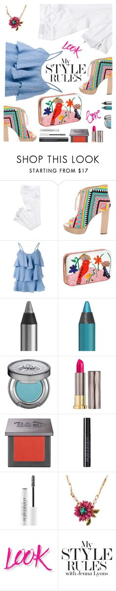 """""""Walk this way:  Summer Booties"""" by juliehooper ❤ liked on Polyvore featuring Jerome C. Rousseau, Paul & Joe, Alice + Olivia, Urban Decay, Les Néréides, NYX, polyvoreeditorial and summerbooties"""