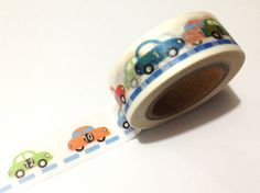 1PC NEW Japanese Washi Tape Craft Sticker, Rainbow Number Cars Transport 10METRE in Crafts, Scrapbooking, Adhesives | eBay