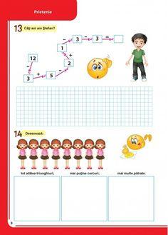 Caiet pentru vacanta - Clasa Pregatitoare Word Search, Map, Children, School, Boys, Kids, Big Kids, Maps, Children's Comics
