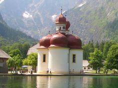 Church (Berchesgarden)... Salzburg, Germany (Austria)...