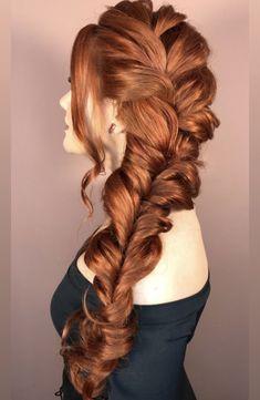 Projeto Along Hair – Recupere em 30 dias Long Bob Hairstyles, Pretty Hairstyles, Wedding Hairstyles, Red Hair Inspo, Hair Upstyles, Red Hair Color, Ginger Hair, Dyed Hair, Hair Inspiration