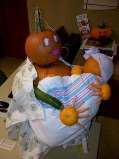 Breastfeeding pumpkin