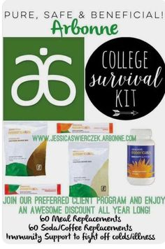 Keep you college student healthy and focused!  Add the autoship feature for peace of mind, deliver goodness right to your loved ones door #detox #wellness #arbonne #puresafebeneficial #askme #interested #vegan #glutenfree #life #happiness #arbonne #puresafebeneficial #askme #interested #vegan #itsalifestyle #notadiet #healthyfromtheinsideout #healthy #collegelife
