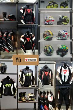 DAINESE | 2017 Motocross Store, Retail Me, Riding Gear, Valentino Rossi, Garage Ideas, Visual Merchandising, Store Design, Shop Ideas, Xbox