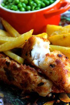 Warm&Snug&Fat: Home-made fish fingers