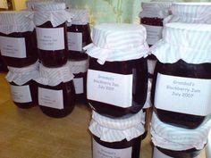 big batch of home made jam
