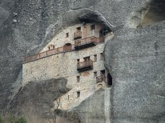 The Holy Monastery of St. Nicholas Badova (Kofina), Meteora, Kalampaka, Greece, Unesco