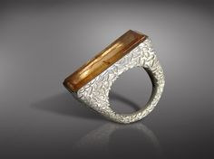 Imperial Topaz RingFine Silver and Imperial Topaz RingOne of a Kind - Susana Schnaider