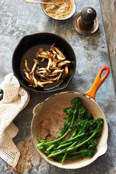 Umami Grain Bowl recipe by Melina Hammer for Anthologymag.com.