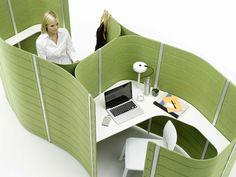 l'ufficio, paesaggio urbano    Vitra. Workbay (design Ronan & Erwan Bouroullec).