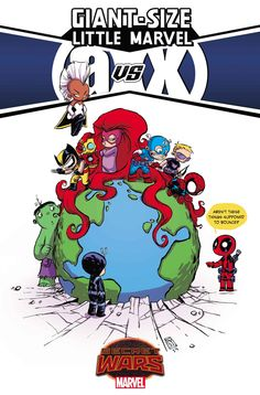 STORY BY Skottie Young ART BY Skottie Young COVER BY Skottie Young, Humberto Ramos