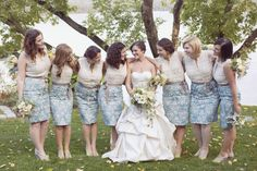 Dreamy Rustic Wedding at Mills Falls by Dreamlove Photography