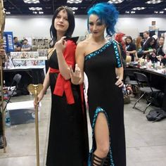 Instagram media by skyrimfox_cosplay - Hades and Jafar at @indypopcon…