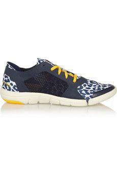 Adidas by Stella McCartney Ararauna Dance leopard-print stretch-jersey sneakers | NET-A-PORTER. These are so cute!!!