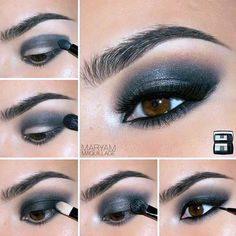 Killing Step by Step Makeup Tutorials for Brown Eyes ★ See more: http://glaminati.com/makeup-tutorials-for-brown-eyes/