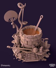 ArtStation - Cauldrons - Potionomics, Joe Stachnik (Stachmo)