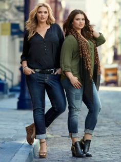 Fall 2014 Plus Size Outfits by Torrid / Jeans, Scarves & Accessories!