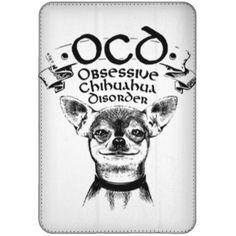 Limited Edition – OCD Obsessive Chihuahua Disorder iPad Mini Flip Case