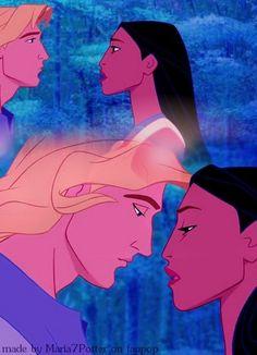 ♡~ Pocahontas & John Smith Collage ~♡ - pocahontas Photo