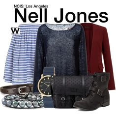 Inspired by Renee Felice Smith as Nell Jones on NCIS: Los Angeles.