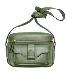 Derek Lam Fatigue Newton Leather Camera Bag