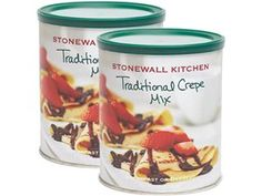 Set of 2 Traditional Crepe Mix by Stonewall Kitchen by Stonewall Kitchen at Cooking.com #holidaycooking