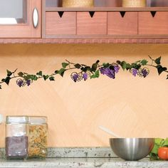 DCWV Vines with Grapes Wall Art   Overstock™ Shopping - The Best Prices on DCWV inc. Decorative Stencils