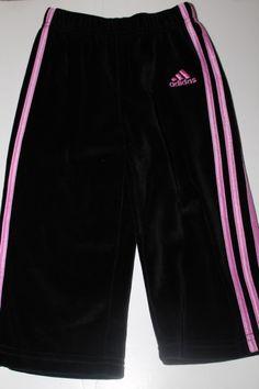Velour Adidas pants (NWOT), 18 months