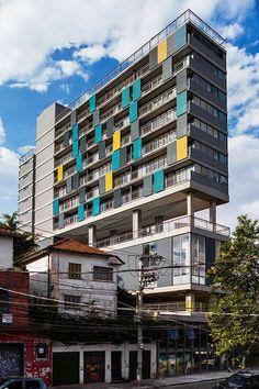 Andrade Morettin: Edifício POP Madalena, São Paulo