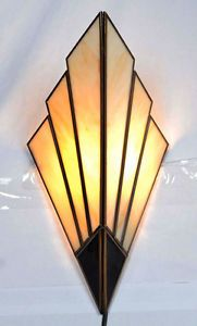 ART Deco Wall Sconces Wall Lights 1930 039 S Style | eBay