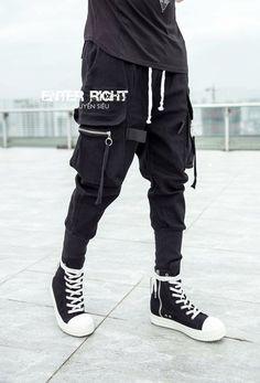 TROOPER JOGGERS   TECHWEAR 2019   PANTS. Shop now our new collection on tekkawear.com . Use code PINTEREST30 to enjoy 30% OFF on your first order! #pants #techwear #darkwear #bottomwear #coat #cargo #jogger
